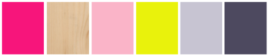 Color palette - For Interieur