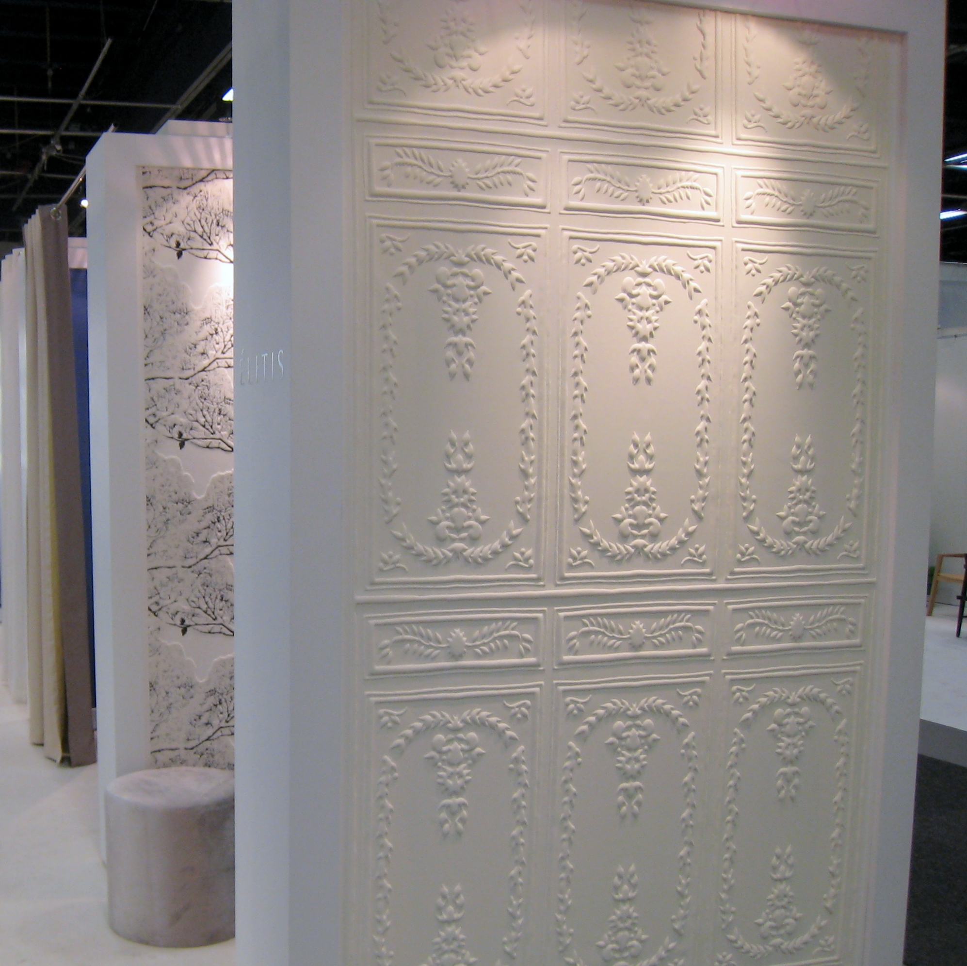 A glimpse into stockholm furniture and light fair 2012 for 3d wallcovering