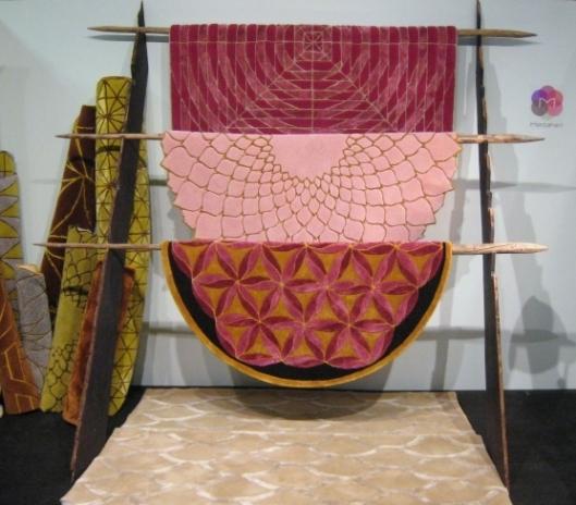 Mattahari rugs Stockholm Fair