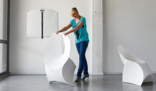 Flux foldable chair