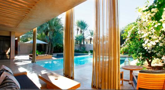 Palais Namaskar - Pool Villa Terrace