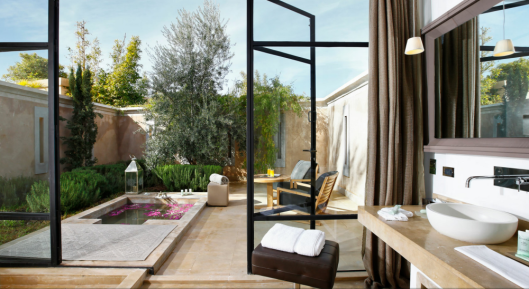 Palais Namaskar - Bathroom with outdoor bath