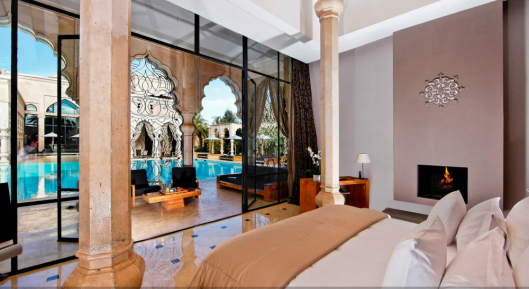 Palais Namaskar - Suite Namaskar Bedroom