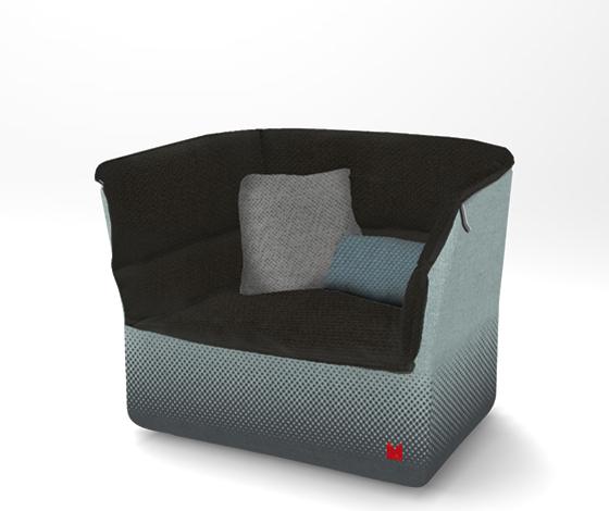 comfy coat armchair by sebastian herkner for interieur blog. Black Bedroom Furniture Sets. Home Design Ideas