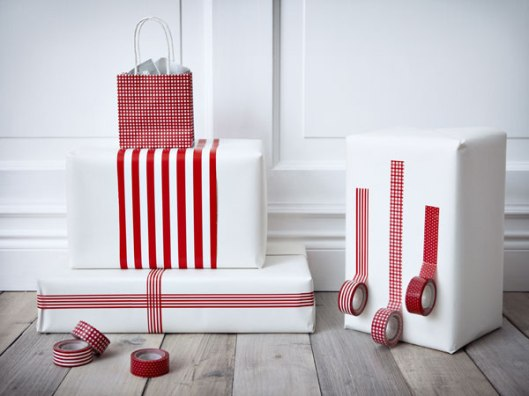IKEA wrapping paper
